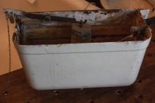 Hochhängender Spülkasten aus Gusseisen