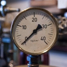 Manometer für Heizungs- und Maschinenanlagen