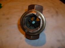 Durchflussschauglas bronze Fitting