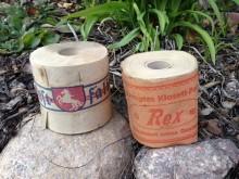 Toilettenpapier Rollen Krepp um 1930 rex westfalia